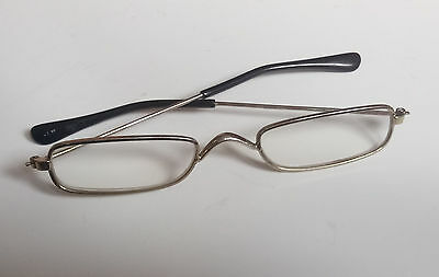 Vintage Pair Child Glasses Magnified/Reading PropStageFilmCollectorTaxidermy