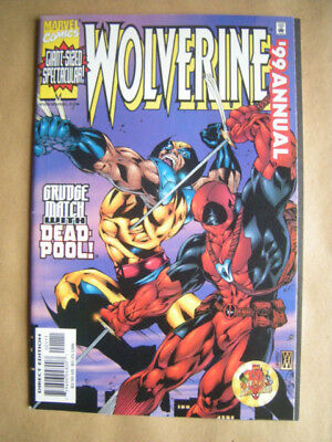 --- WOLVERINE --- Annual 1999 --- Marvel Comics, USA -- englisch !