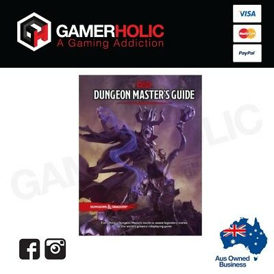 D&D Dungeons and Dragons 5th Edition Dungeon Masters Guide Board Game