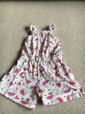 George Girl Playsuit 4-5 years Good Condition