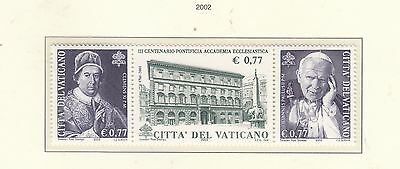 VATICAN 2002 300th Anniv. Academy Set MUH