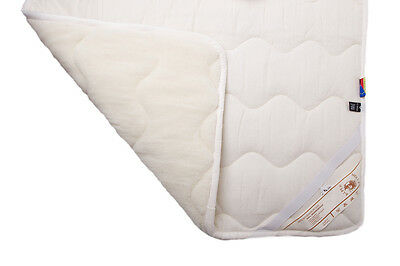 Mattress Cover Mattress Pad Bed pad slipcover from 100% Merino Wool All Sizes