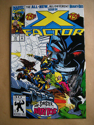--- X-FACTOR --- Nr. 75  (1992) giant-sized --- Marvel Comics, USA -- englisch !