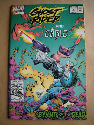 --- GHOST RIDER and CABLE --- Marvel Comics, USA (1992)  -- englisch !