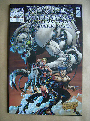 X-MEN / WILD C.A.T.S. - THE DARK AGE --- Marvel Comics, USA (1998) --- englisch!