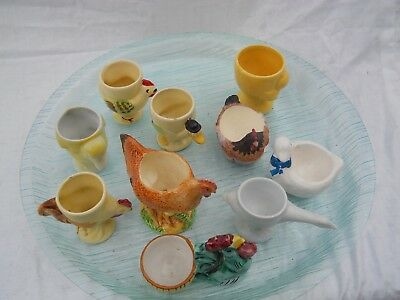Vintage Egg Cup Collection