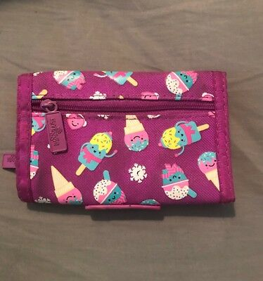 Smiggle Girls Purple Wallet