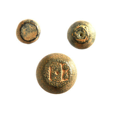 Lot of 3 AE Byzantine commercial weight Dimidia sextula, Sextula and Semuncia