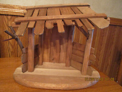 Anri Large Nativity Stable Manger Creche