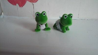 Sylvanian Families Bullrush Frog Babies One Boy and One Girl Baby