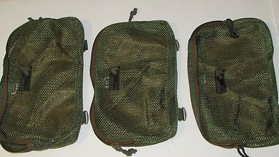 Kifaru  Pouch, lock and load, coyote brown/ green, never used, bid is for 1 only