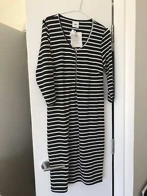 Bnwt Mamalicious Nursing Dress Size M 10/12