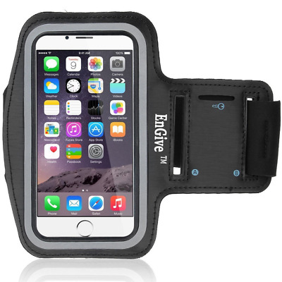 EnGive Protective iPhone 6 / 6S Armband - Fully Adjustable Size Lightweight Armb