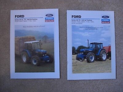 6 Ford 30/40 Series Tractor Brochures (246)