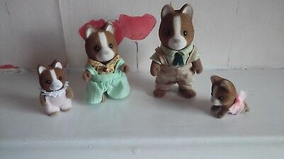 Sylvanian Families Hound Dog Family Including Babies