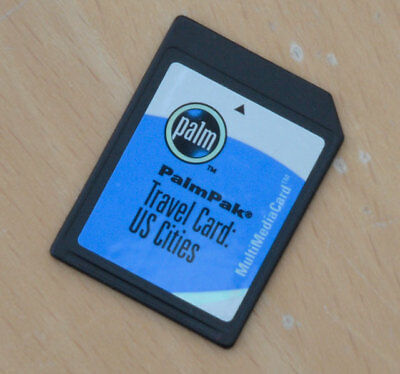 PalmPak US Cities Memory Card for old Palm Organiser/PDA