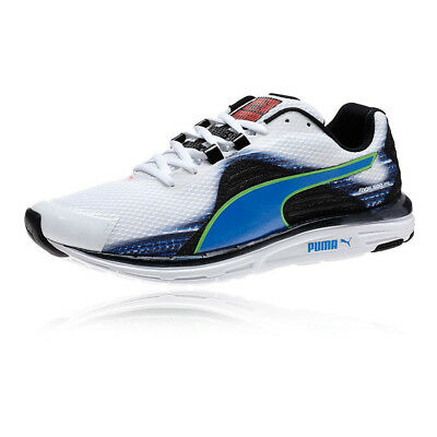 Puma FAAS 500v4 Mens White Breathable Running Trainers Pumps Sports Shoes