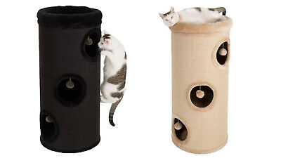 Cat Scratching Barrel Tree Post Bed House Scratcher Medium Large Extra Large