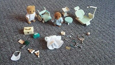 Sylvanian Families Medical Items Doctor Dentist
