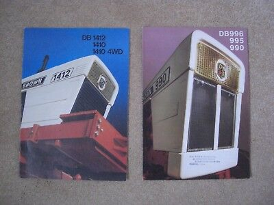 9 David Brown Tractor Brochures (266)