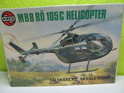 122F - Airfix 61068 - 1:72 - Bausatz MBB Bö 105C Helicopter - top in OVP