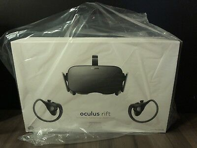 Oculus Rift Bundle Virtual Reality Brille inkl. Oculus Touch.