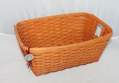 Workshops by Gerald Henn Basket Mini Laundry Basket with Attached Tag