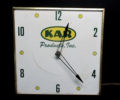 Vintage PAM Clock Co. KAR Products Inc. New Jersey