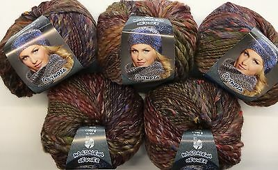 Wolle 500 gramm Lana Grossa Olympia Tweed 5 Knäuel a 100 gramm Farbe 707
