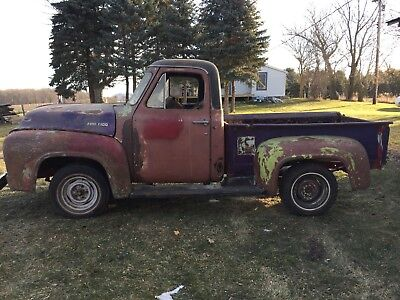 1954 Ford F-100  1954 Ford F100