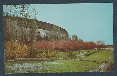 Lot Of 2 Donald Gray Gardens And Stadium Cleveland Ohio Vintage Postcards
