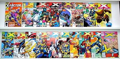 Lot of 18 Marvel Comics X-Factor Mixed Run Comic Book Issues VF to MN Condition