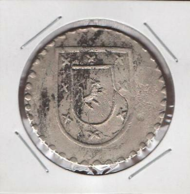 Mexico 8 Eight Reales 1812 Prov D Oaxaca  Silvered, Extremely Scarce & Rare