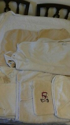 hooded baby towels including 2 cuddledrys