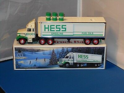 Hess Gasoline Toy Truck Bank With Original Box!