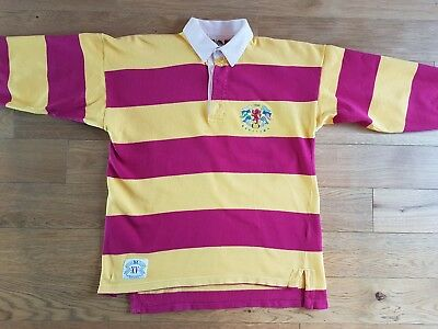 Very rare 90s Vintage Benetton Rugby Shirt Casual Terrace Football MCC