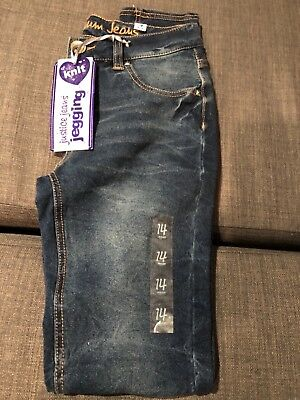 NWT Girls Justice Jeggings Size14