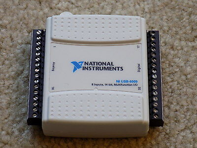 National Instruments NI USB-6009 8 Inputs, 14-Bit USED