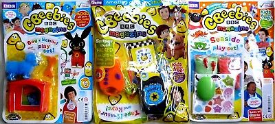 3 x CBEEBIES MAGAZINE ISSUES #462 - 463 - 464 ~ NEW WITH GIFTS ~