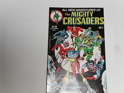 The Mighty Crusaders #1 March 1983  Red Circle Comics