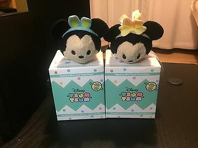 Easter Mickey & Minnie Tsum Tsums