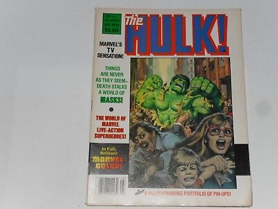 The Hulk Colour Magazine #16 August 1979, Marvel , Pin Up Section