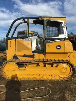 2014 John Deere 650K XLT With Forestry Package!