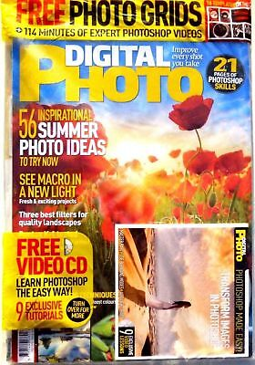Digital Photo Magazine Issue #209 ~ July 2016 With Free Disc ~ New ~