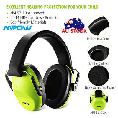 Baby Earmuffs Kids Children's Toddler Ear Muffs Hearing Protection Headband AU