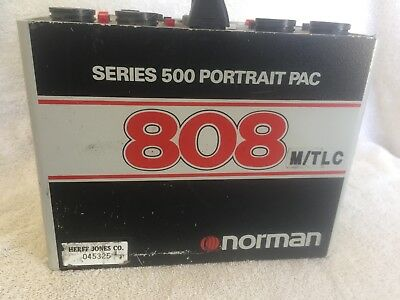 Norman Series 500 Portrait Pac