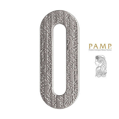 Pamp Suisse Fors Collection Pure Palladium 999.5 Health Charm Pendant Bracelet
