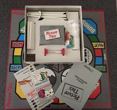PICTURE THIS board game like new Tolmer Vintage possibly 1987 drawing game words
