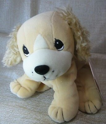 "Cocker Spaniel - Enesco Precious Moments - Tender Tails 7"" Stray Paws - Plush"