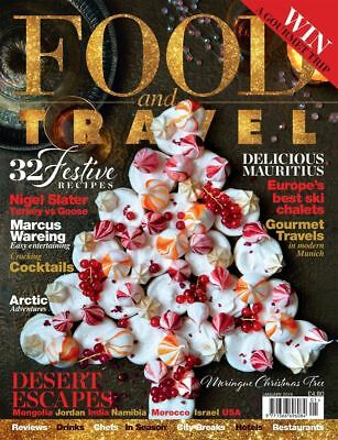 Food And Travel Magazine January 2018 ~ Mauritius ~ Mongolia ~ India ~ Morocco